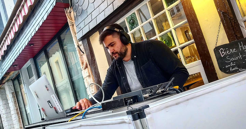 DJ CALI a la flottille