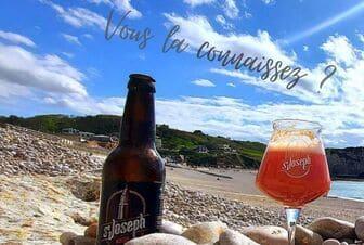 Une bière ambrée Saint-Joseph à la Flottille, ca vous dit ?